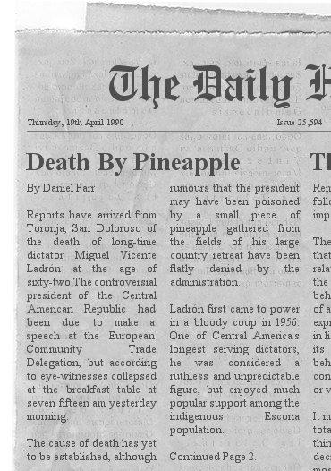 Daily Herald Death